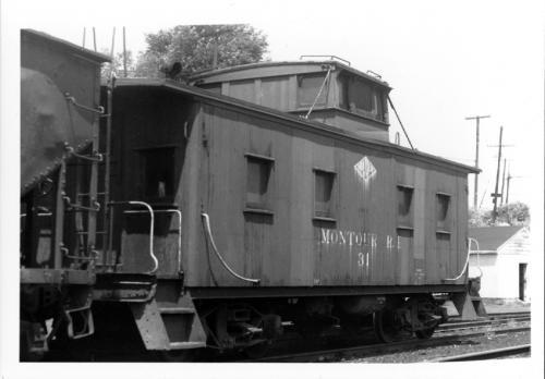 Montour caboose 31 in 1953